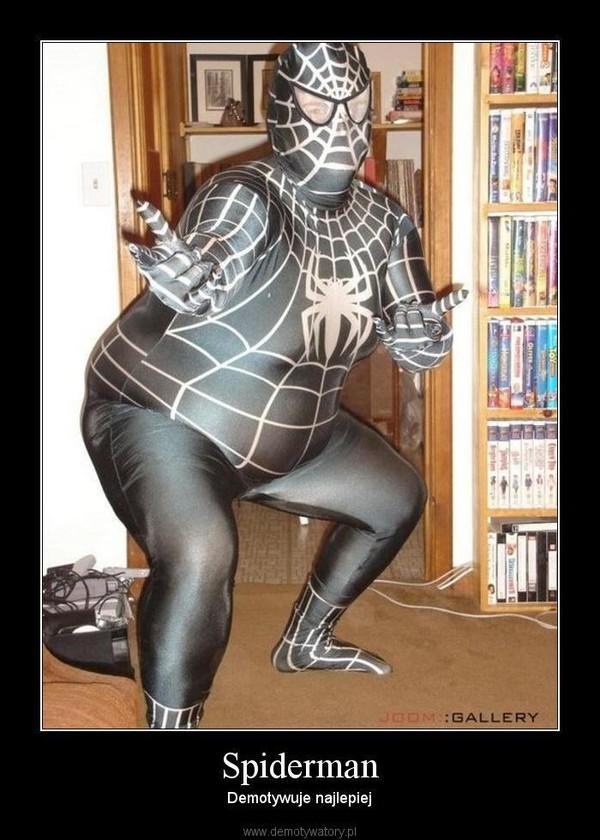 Spiderman – Demotywuje najlepiej