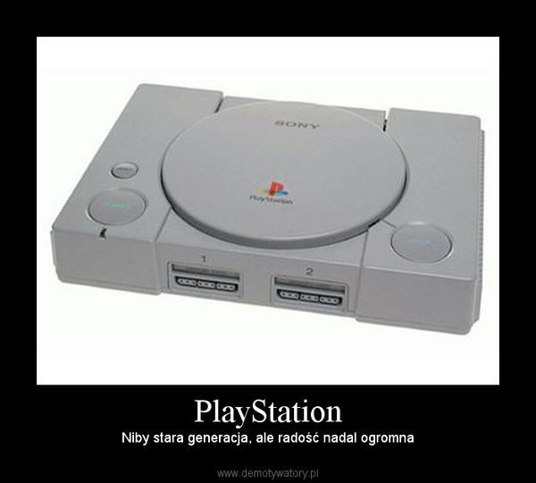 PlayStation – Niby stara generacja, ale radość nadal ogromna
