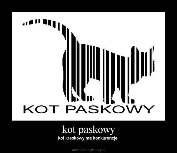 kot paskowy – kot kreskowy ma konkurencje