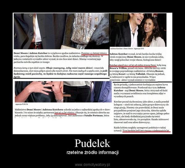 Pudelek – rzetelne źródło informacji