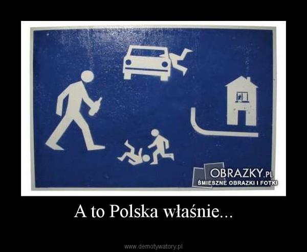 A to Polska właśnie... –