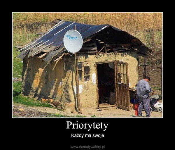 Priorytety – Każdy ma swoje