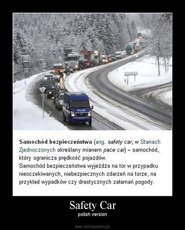 Safety Car – polish version