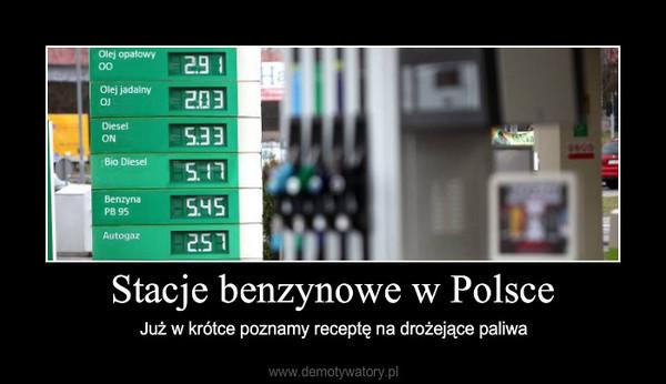 Stacje benzynowe w Polsce – Już w krótce poznamy receptę na drożejące paliwa