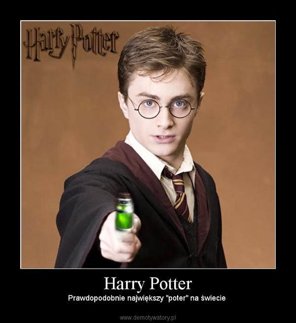 """Harry Potter – Prawdopodobnie największy """"poter"""" na świecie"""