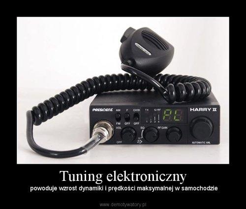 Tuning elektroniczny
