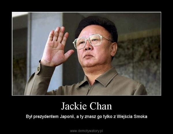 Jackie Chan – Był prezydentem Japonii, a ty znasz go tylko z Wejścia Smoka