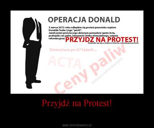 Przyjdź na Protest!