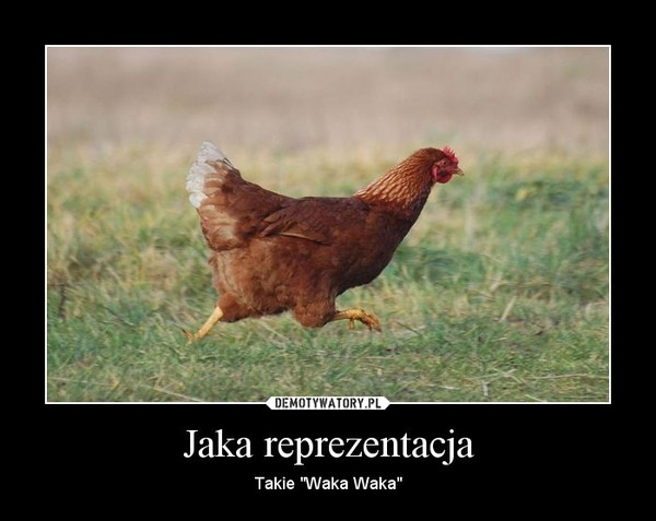 """Jaka reprezentacja – Takie """"Waka Waka"""""""