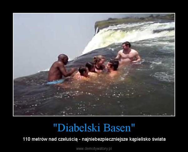 """""""Diabelski Basen"""" – 110 metrów nad czeluścią - najniebezpieczniejsze kąpielisko świata"""