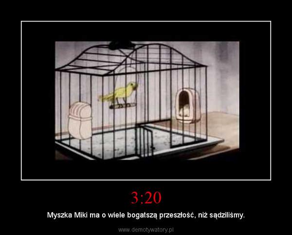 3:20 – Myszka Miki ma o wiele bogatszą przeszłość, niż sądziliśmy.