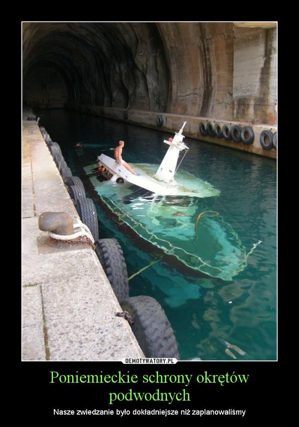 Poniemieckie schrony okrętów podwodnych – Nasze zwiedzanie było dokładniejsze niż zaplanowaliśmy