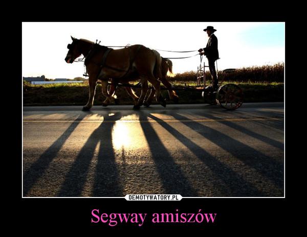 Segway amiszów –