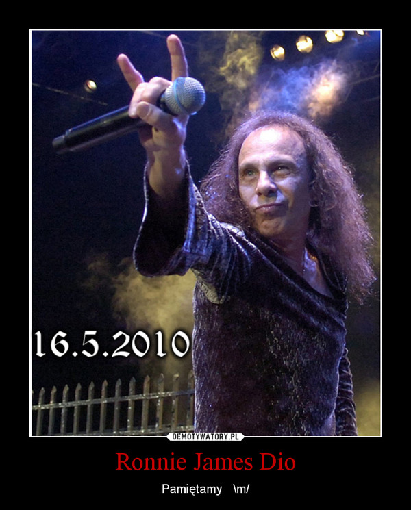 Ronnie James Dio – Pamiętamy   \m/