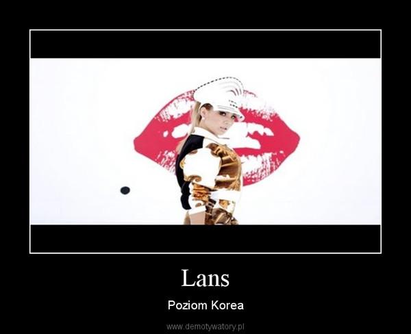 Lans – Poziom Korea