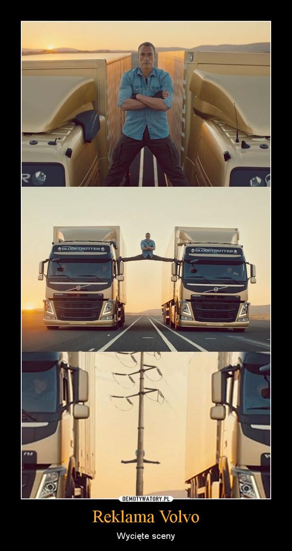Reklama Volvo – Wycięte sceny