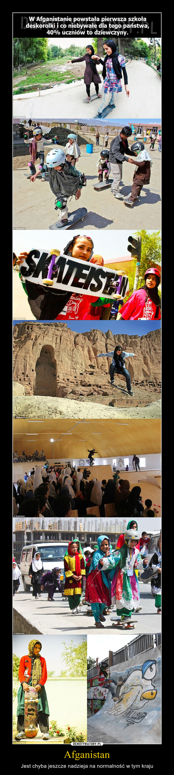 Afganistan – Jest chyba jeszcze nadzieja na normalność w tym kraju