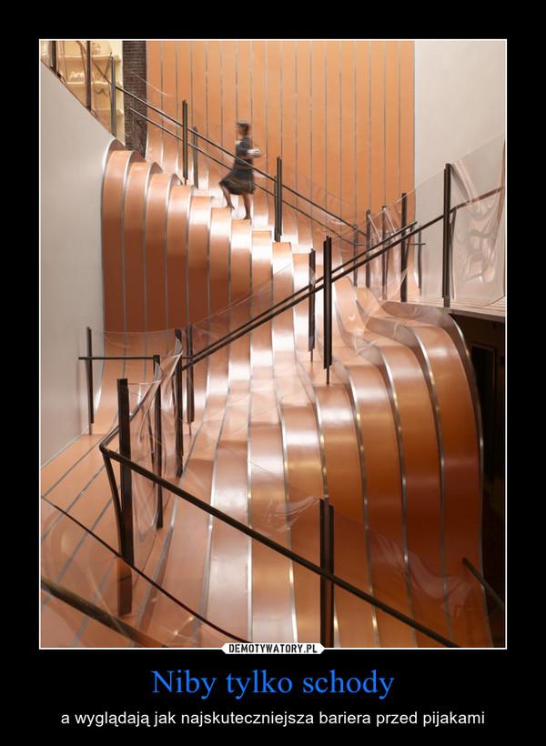 Niby tylko schody – a wyglądają jak najskuteczniejsza bariera przed pijakami