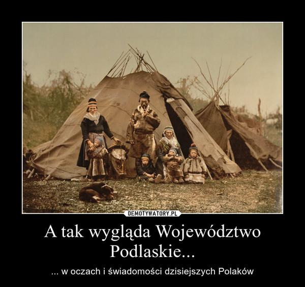 A tak wygląda Województwo Podlaskie... – ... w oczach i świadomości dzisiejszych Polaków
