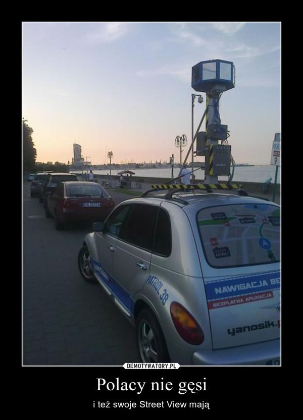 Polacy nie gęsi – i też swoje Street View mają