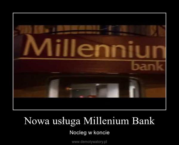Nowa usługa Millenium Bank – Nocleg w koncie