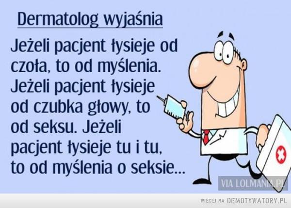 Dermatolog wyjaśnia –