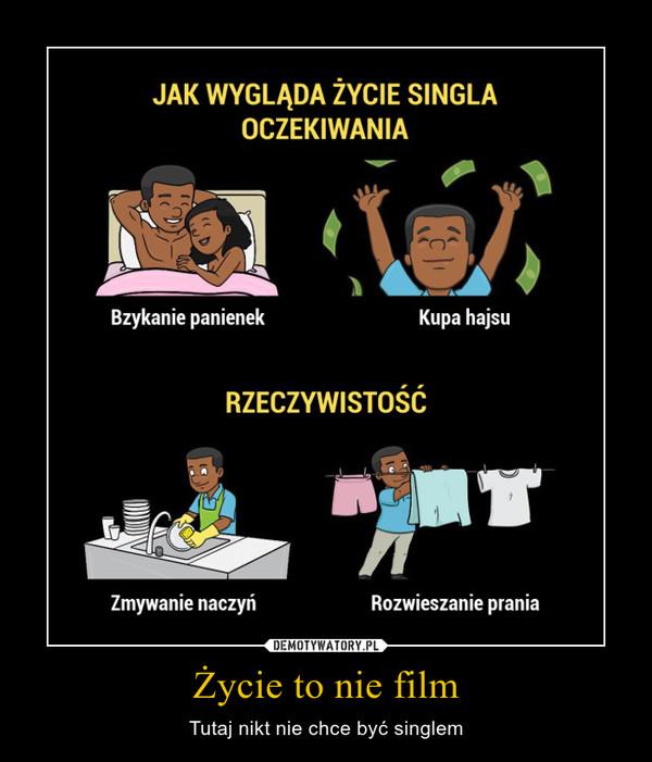 Życie to nie film – Tutaj nikt nie chce być singlem