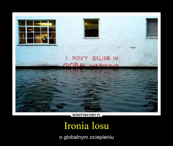Ironia losu – o globalnym ociepleniu