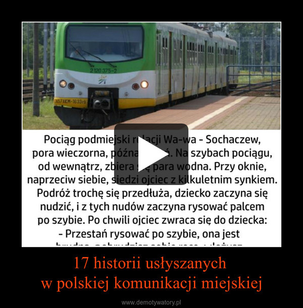 17 historii usłyszanych w polskiej komunikacji miejskiej –