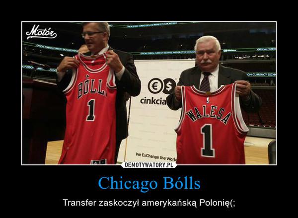 Chicago Bólls – Transfer zaskoczył amerykańską Polonię(;