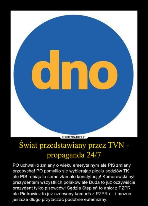 Świat przedstawiany przez TVN - propaganda 24/7