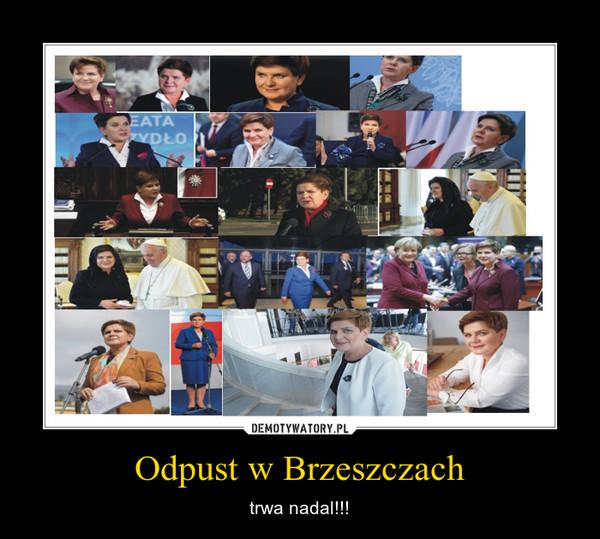 Odpust w Brzeszczach – trwa nadal!!!