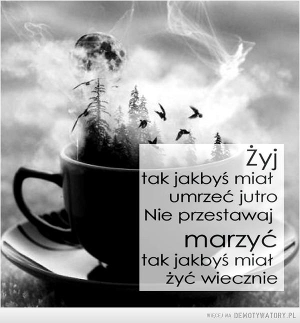 Żyj tak... –