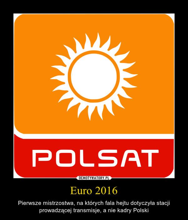 Euro 2016 – Pierwsze mistrzostwa, na których fala hejtu dotyczyła stacji prowadzącej transmisje, a nie kadry Polski