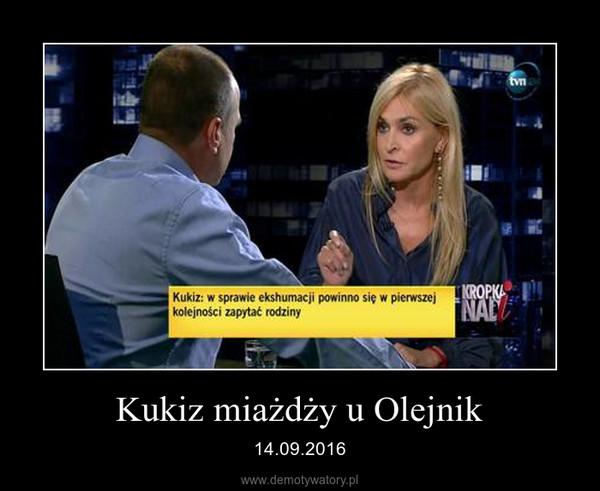 Kukiz miażdży u Olejnik – 14.09.2016
