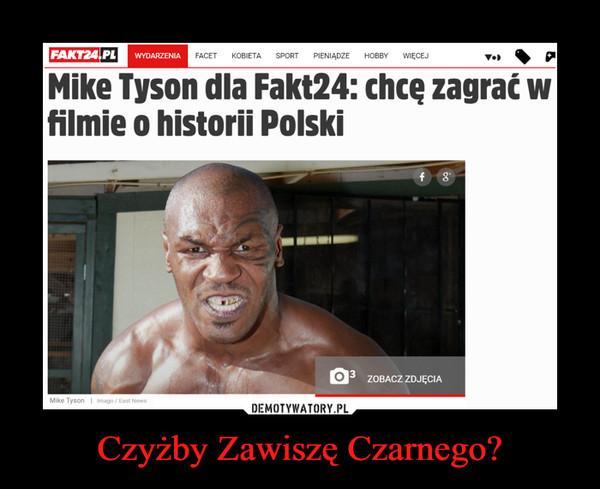 Czyżby Zawiszę Czarnego? –  Mike Tyson dla Fakt24: chcę zagrać w filmie o historii Polski