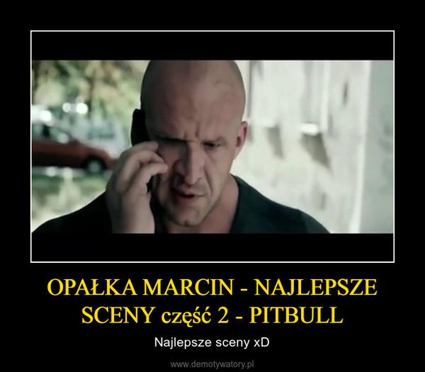 OPAŁKA MARCIN - NAJLEPSZE SCENY część 2 - PITBULL – Najlepsze sceny xD