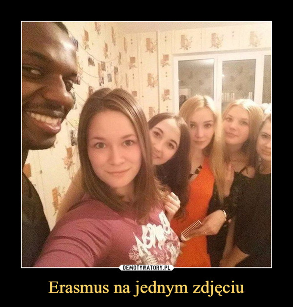 Erasmus na jednym zdjęciu –