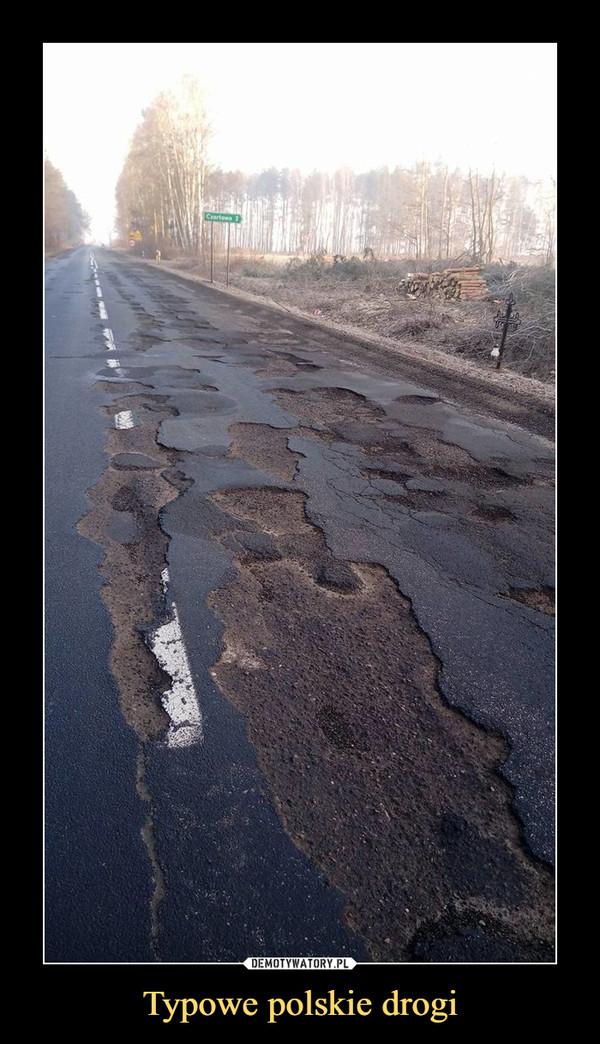 Typowe polskie drogi –