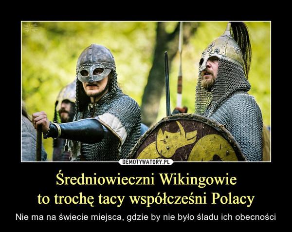 Średniowieczni Wikingowieto trochę tacy współcześni Polacy – Nie ma na świecie miejsca, gdzie by nie było śladu ich obecności