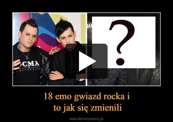 18 emo gwiazd rocka i to jak się zmienili –