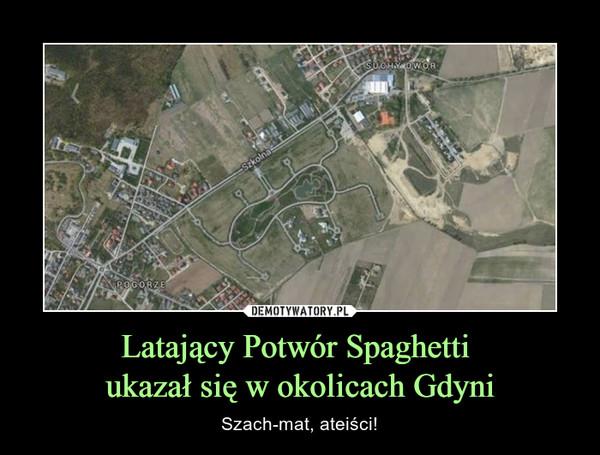 Latający Potwór Spaghetti ukazał się w okolicach Gdyni – Szach-mat, ateiści!