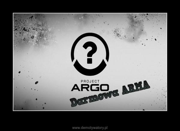 Project argo - nowa gra twórców army – Nowa gra od twórców army 3