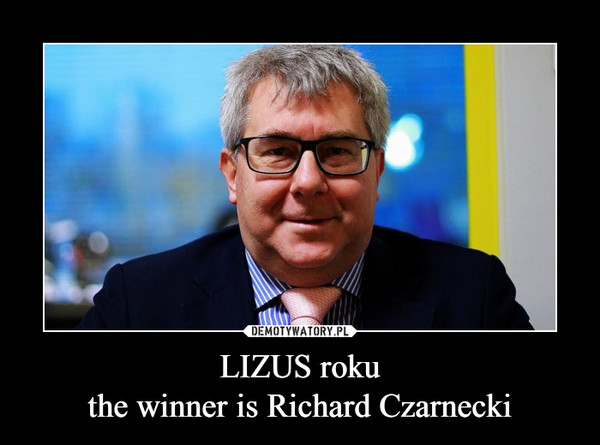 LIZUS rokuthe winner is Richard Czarnecki –