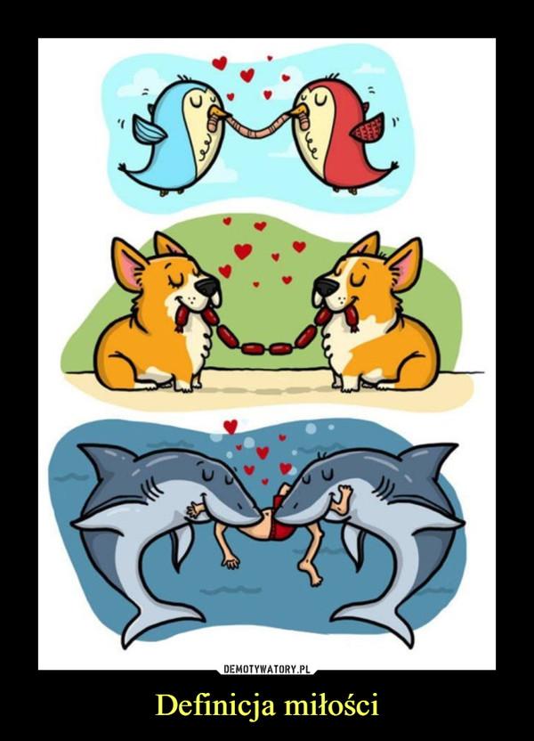 Definicja miłości –
