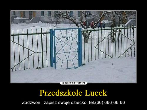 Przedszkole Lucek