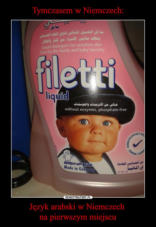 Język arabski w Niemczech na pierwszym miejscu –  filetti liquid