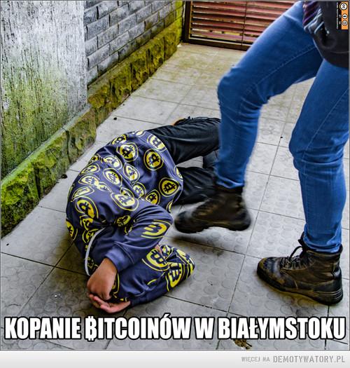 Kopanie bitcoinów w Białymstoku