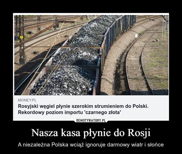 Nasza kasa płynie do Rosji – A niezależna Polska wciąż ignoruje darmowy wiatr i słońce