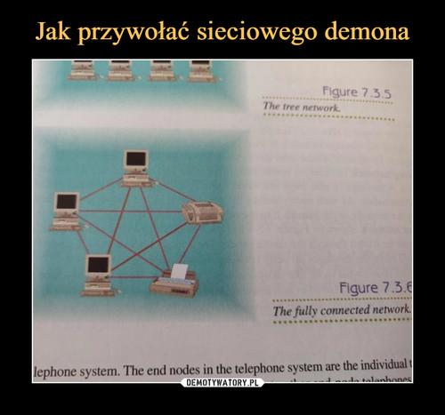 Jak przywołać sieciowego demona